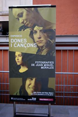 Exposició: Dones i cançons al Palau Robert (Barcelona) per Teresa Grau Ros