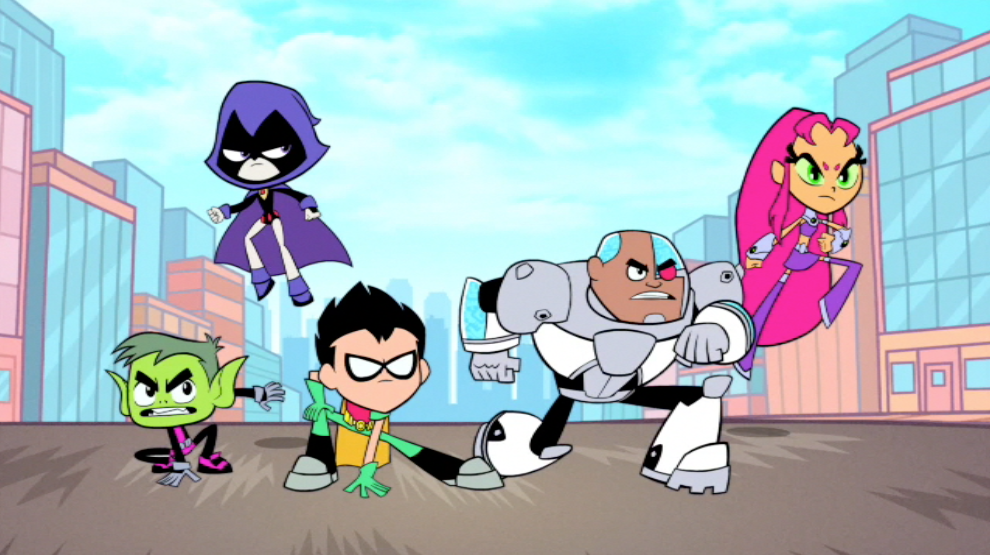 Teen Titans Go Tv Series