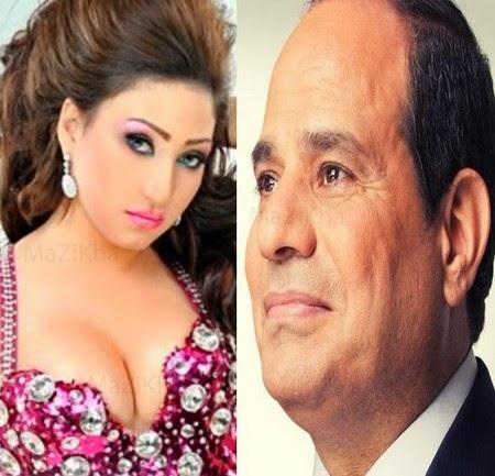 بوسى واغنية بالمختصر المفيد لـ عبد الفتاح السيسى 2014