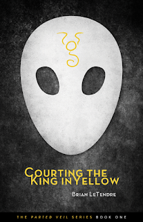 Courting the King in Yellow Book Cover