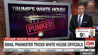 White House officials tricked by email prankster