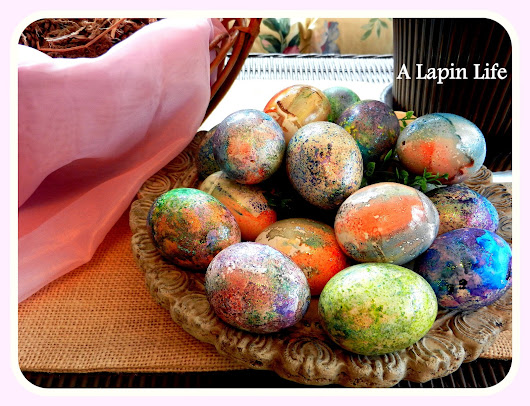 Spring Easter Egg Decor