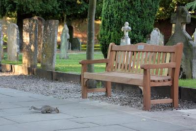 Старое кладбище в Стратфорде-на-Эйвоне