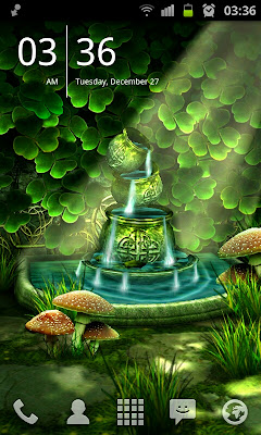 Celtic Garden HD Live Wallpaper for Android