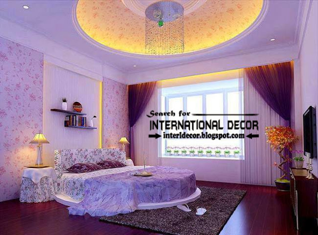 Contemporary pop false ceiling designs for bedroom 2017 for Bedroom designs pop