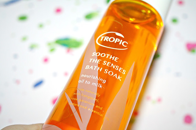Bath time with Tropic Skincare
