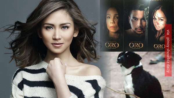 "Sarah Geronimo expresses disappointment over dog killing scene in MMFF movie ""Oro"""