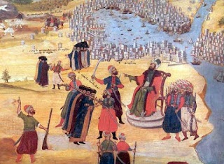 Οι Τούρκοι πολιορκούν την Κωνσταντινούπολη - Το Βυζάντιο παρακμάζει και υποκύπτει σε κατακτητές - από το «https://e-tutor.blogspot.gr»