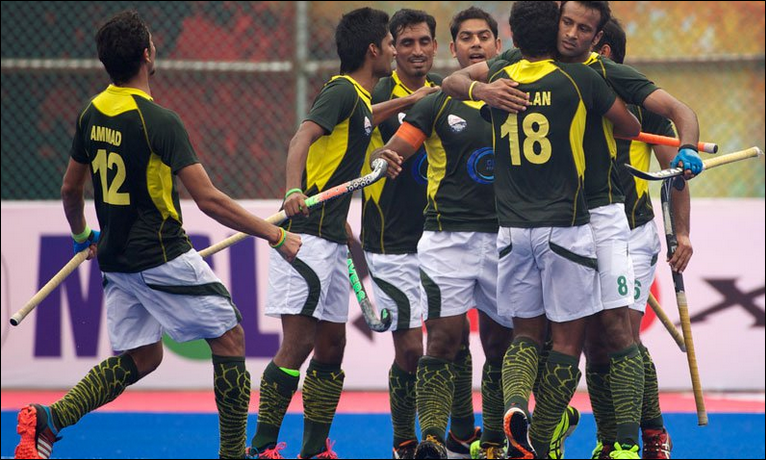 Pakistan vs India FIH Champions trophy semi final live