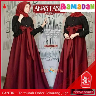 DDE048D50 Dress Sabrina Ayumidress Sabrina Lebaran Baboldress 2019 Casual BMGShop
