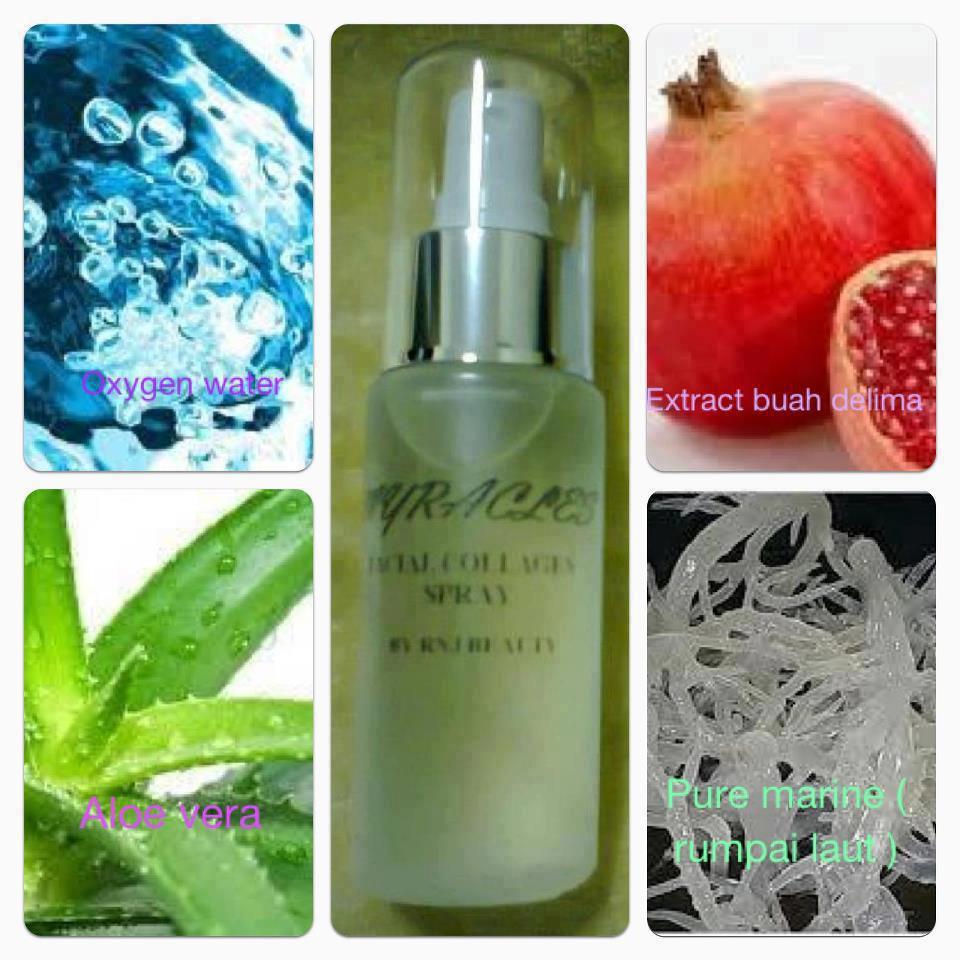 Natura Beauty Spray Produk Dari Mana: RnZ: MYRACLES BEAUTY