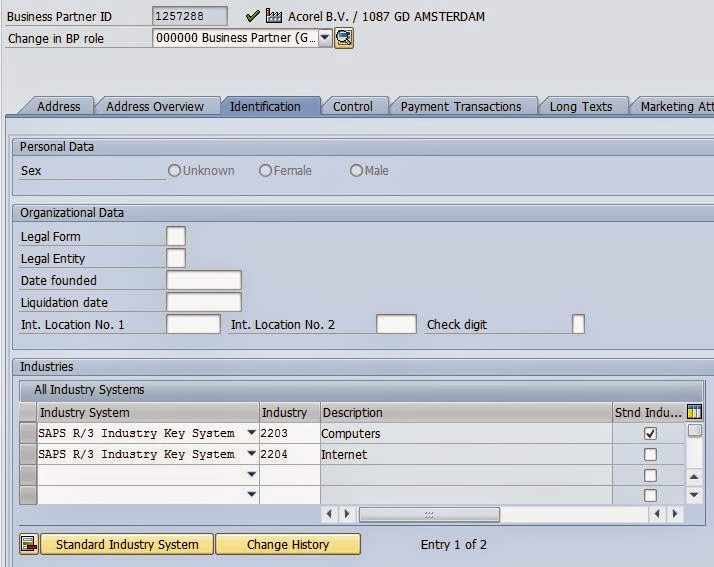 How to create tax classification in sap