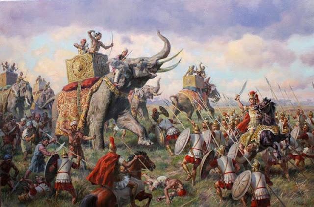 Η Πελοπόννησος δεν ταιριάζει στους ελέφαντες