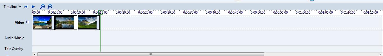 Menu View Timeline ( Gambar Loop + dan - )