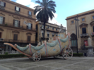 Palermo Sicily ancient carriage