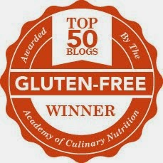 Top 50 Gluten Free Blogger Award