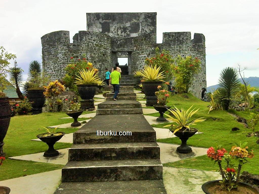 pesona Benteng Tolukko Ternate wisata Sejarah Ternate