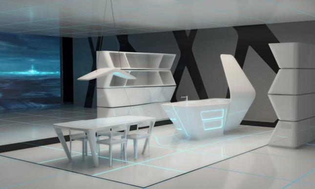 Una visin futurista del espacio domstico  Cocinas con