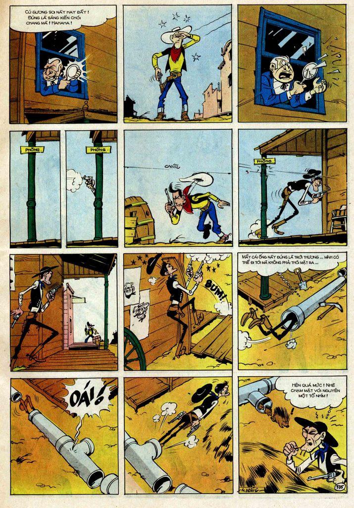 Lucky Luke tập 25 - nhện chân dài trang 35