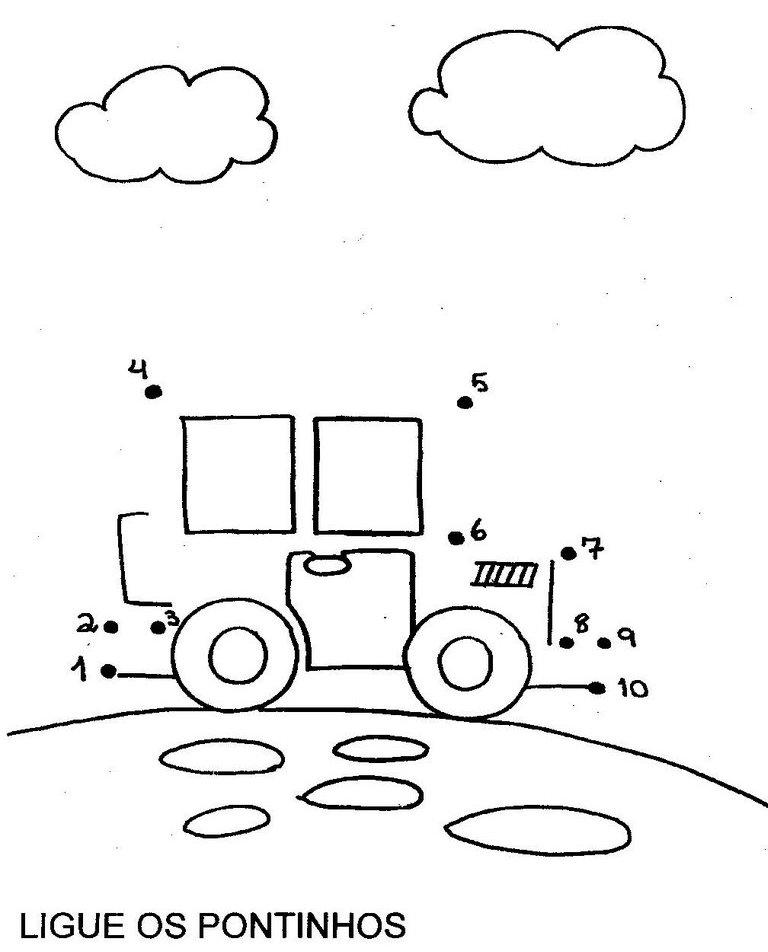 Coordenação infantil de desenhos