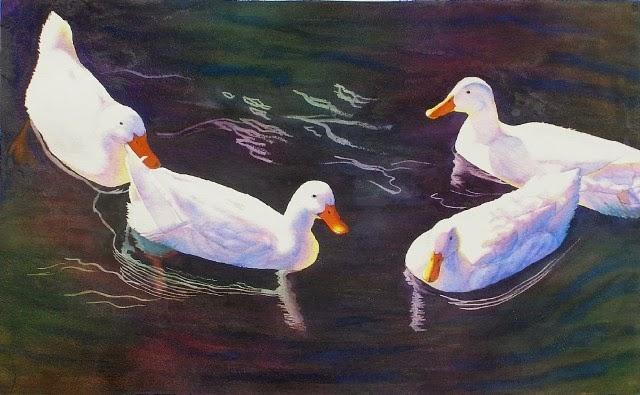 Рисунки акварелью. Cathy Hillegas