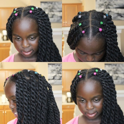 LIL SIS NATURAL HAIR PROTECTIVE STYLE : HOW TO STOP ITCHY BRAID EXTENSIONS