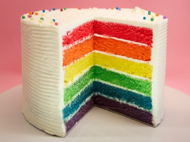 resep rainbow cake kukus ny liem