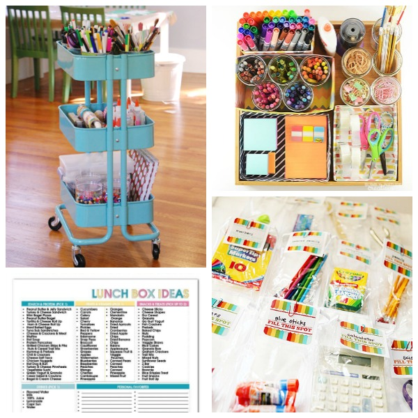 SCHOOL ORGANIZATION HACKS! Great ideas to make life easier for the entire family! #schoolhacks #schoolorganization #backtoschool #backtoschoolhacks