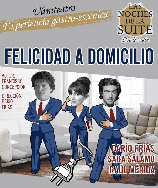 Francisco Concepción, Sara Sálamo, Raul Mérida, Darío Frías