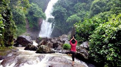 Pagi di Air Terjun Talempong dan Cerita Lumut Ajaib, Tempat Wisata Menarik, Tempat Wisata Indah, Tempat Wisata Murah