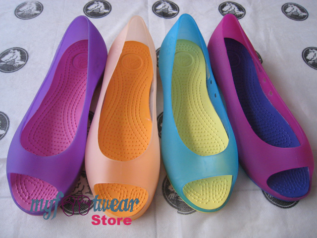 c796ca25612e6 MyFootWearStore - Pusat Sepatu Crocs Murah Surabaya  Carlie Flat KW