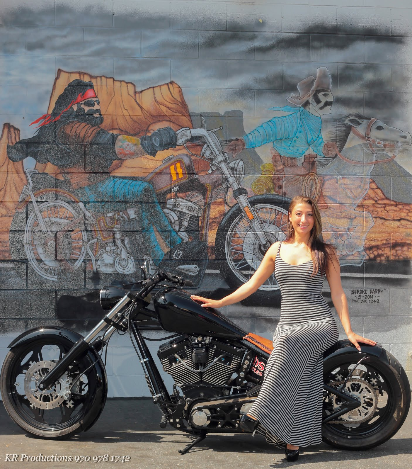 bikers of america, know your rights!: babe of the day