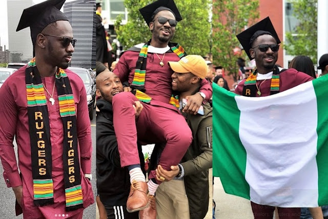 Nigerian Man Graduates In Style, Gets Full Time Offer From Amazon