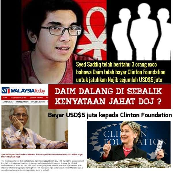Yang minta campur tangan asing pemimpin pembangkang, yang salah BN