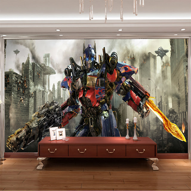 Transformers Wall Murals 3D