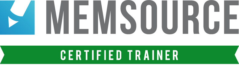 Certified Memsource Trainer