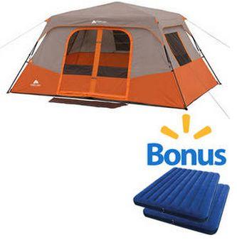 Savvy Spending Walmart Ozark Trail 8 Person 2 Room Tent
