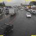 Ônibus quebrado na subida do viaduto Urbana sentido Bernardo Vieira