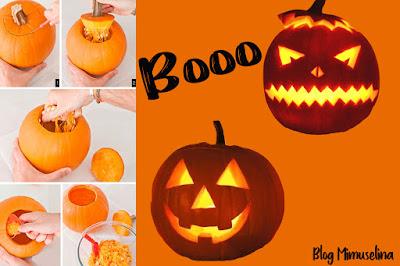 ideas para hacer con niños en halloween caseras recortar calabaza vela interior miedo blog mimuselina