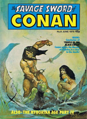 Marvel UK, Savage Sword of Conan #8
