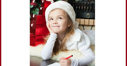 Letters to Santa: Avoiding Greed and Encouraging Kindness