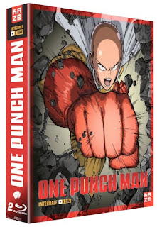 One Punch Man Saison 1 en DVD et Blu-ray
