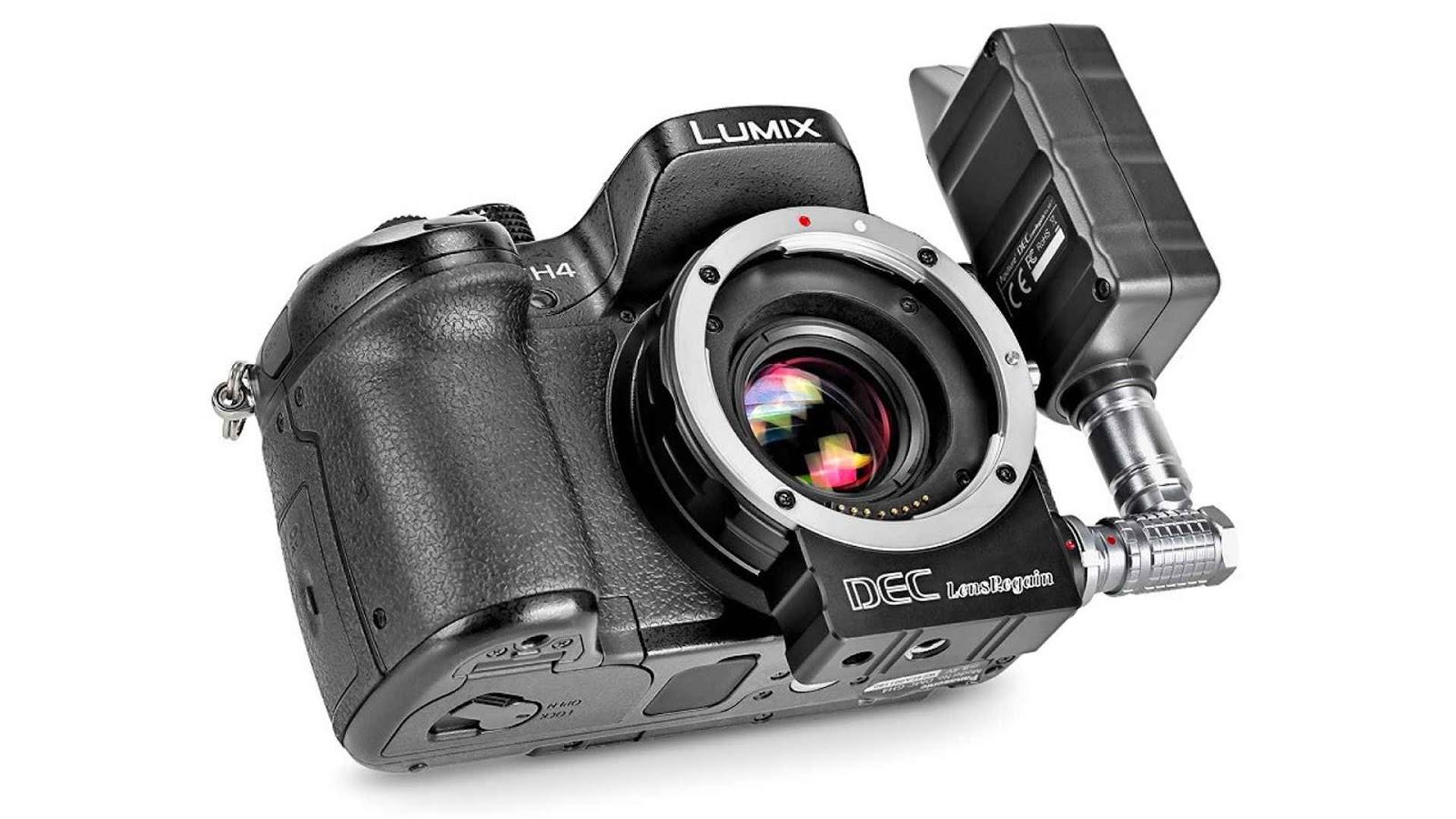 Aputure DEC LensRegain для камер Panasonic и Olympus
