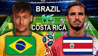 Brazil Vs Costa Rica World Cup 2018 بث مباشر : البرازيل- كوستاريكا