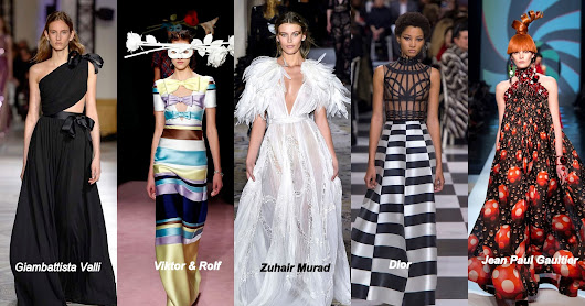 COUTURE: MY FAVORITE SPRING/SUMMER 2018 COLECCTIONS