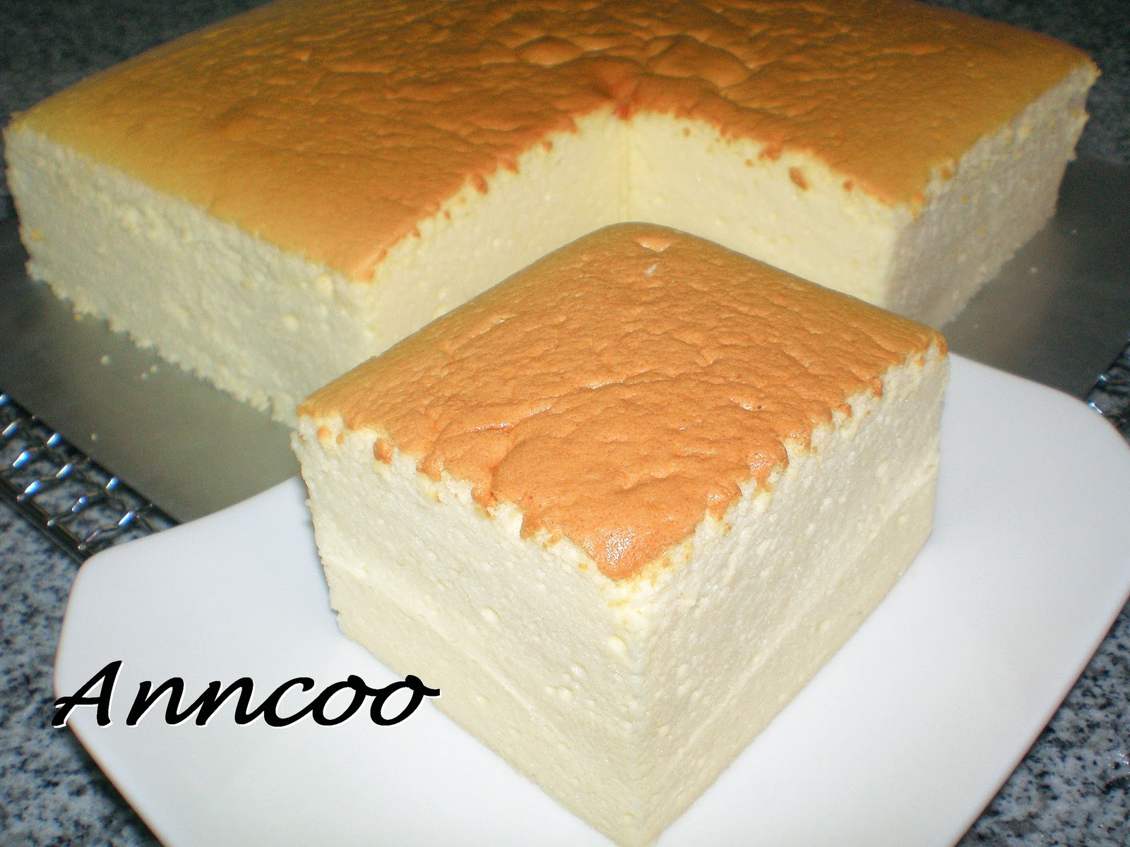 Recipe For Japanese Cotton Cheese Cake