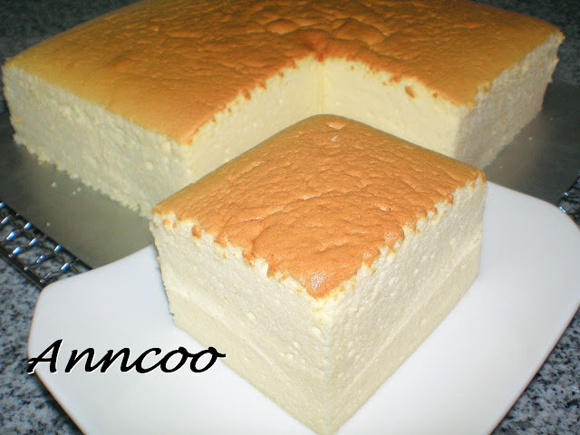 Tasty Japan Cake Recipe: Cecile Blog Spot: Japanese Cheese Cake Recipe