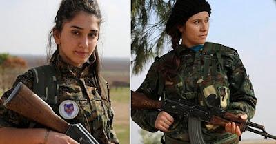 Syrie : les chrétiennes prennent les armes contre l'état islamique  dans monde chr%25C3%25A9tiennes%2Bsyriennes%2Bau%2Bcombat