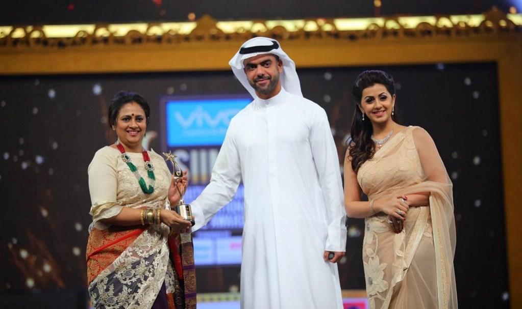 Actress Nikki Galrani Photos At SIIMA Awards 2017