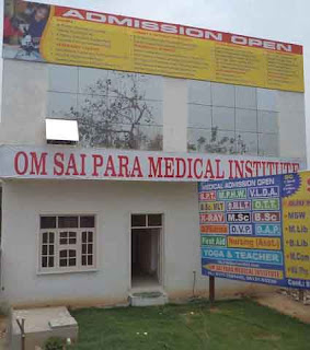 Facilities Provided for Students at Om Sai Para Medical Institute